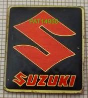 MOTO SUZUKI Le LOGO En Version EPOXY - Motorräder