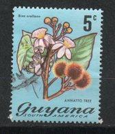 Ref: 1275. Guyana. Flora. Annato Tree - Guyana (1966-...)