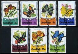 Ref. 212473 * USED *  - GRENADA . 1975. BUTTERFLIES. MARIPOSAS - Grenada (1974-...)