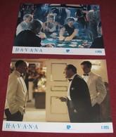 Robert Redford HAVANA Lena Olin - 2x Yugoslavian Lobby Cards - Foto's
