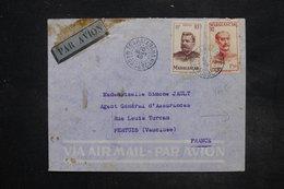 FRANCE - Enveloppe Du Médecin De Tsaratanana Pour La France En 1949 - L 27274 - Brieven En Documenten