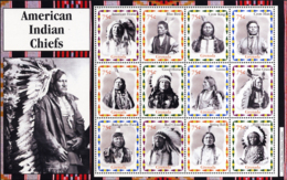 Ref. 228697 * NEW *  - GRENADA . 2004. GREAT AMERICAN INDIAN CHIEFS. GRANDES JEFES INDIOS AMERICANOS - Grenada (1974-...)
