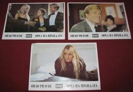 Robert Redford LEGAL EAGLES Debra Winger 3x Yugoslavian Lobby Cards - Photographs
