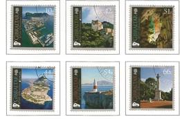 Gibralta  2012  Mi.Nr. 1484 / 1489 , Compl. Satz - EUROPA CEPT Visite / Besuche - Gestempelt / Used / (o) - Europa-CEPT