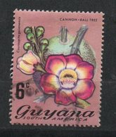 Ref: 1277. Guyana. Flora. 1971-76. Cannonball Tree - Guyana (1966-...)