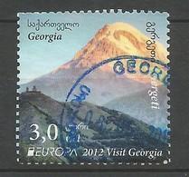 Georgien  2012  Mi.Nr. 612 ,  EUROPA CEPT Visite / Besuche - Gestempelt / Used / (o) - Europa-CEPT