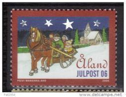 Aland 2006 N°273 Neuf Noël - Aland