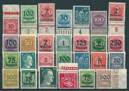 Deutsches Reich - Allemagne - Germany  **, Postfrisch, Mint  (0180) - Lots & Kiloware (max. 999 Stück)