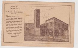 BOLOGNA , Basilica Lauretana Di S.Maria Maggiore  - F.p. - Anni '1920 - Bologna