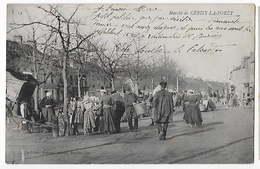50 - CERISY LA FORET   - Le Marché    BA - France