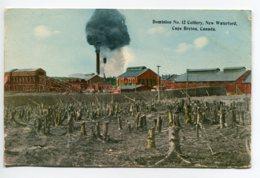 "CANADA  CAPE BRETON Dominion No 12 Colliery Usine Mines  "" Voila La Mine Ou Je Travaille""  Voir Dos    D05 2019 - Cape Breton"