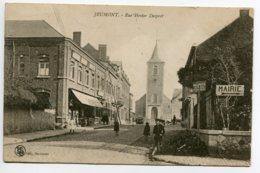 59 JEUMONT Rue Hector Despret Commerce Animation écrite Du Village En 1921   D05 2019 - Jeumont