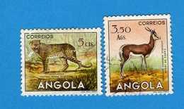 (Us.3) ANGOLA - °1953 - , Yvert  357-369. Used . Vedi Descrizione - Angola