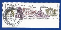 Frankreich  2012  Mi.Nr. 5420 ,  EUROPA CEPT Visite / Besuche - Selbstklebend - Gestempelt / Used / (o) - Europa-CEPT