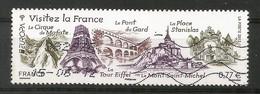 Frankreich  2012  Mi.Nr. 5349 ,  EUROPA CEPT Visite / Besuche - Gestempelt / Used / (o) - Europa-CEPT