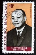 1972 MADAGASCAR YT PA118 .Rene' Rakotobe . Oblitération ANTSIRABE - Madagascar (1960-...)