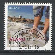 Finnland / Äland  2012  Mi.Nr. 358 ,  EUROPA CEPT Visite / Besuche - Gestempelt / Used / (o) - Europa-CEPT