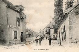 BAYE , Grande Rue - France
