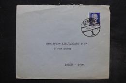 TURQUIE - Affranchissement De Izmir Sur Enveloppe Pour La France En 1939 - L 27282 - 1921-... Republiek
