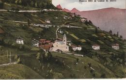CANAL SAN BOVO RONCO AMPIA VEDUTA PANORAMICA D'EPOCA FORMATO PICCOLO - Trento