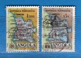 (Us.3) ANGOLA - ° 1955 - , Yvert 383-386. Used - Usati.  Vedi Descrizione - Angola