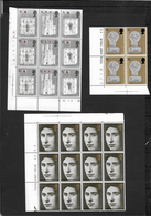 GB 1969 Prince Of Wales Investiture, Complete Set In MNH Corner Blocks (5168) - Blocks & Miniature Sheets