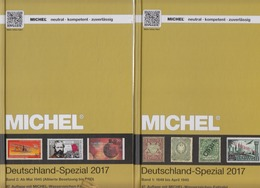 Michel Spezial Band 1+2 Jahr 2017 Gebraucht - Deutschland