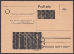 P 837 A I, Formblatt Mit Schachbrettüberdruck, Ungebraucht - Zona Francesa