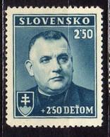 Slowakei / Slovakia, 1939, Mi 69 ** [240319XXIV] - Slovakia