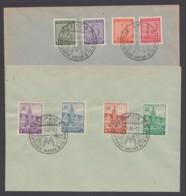"""116/9y, 162/5 A, 2 Blankobriefe, Je Sst """"Leipziger Messe"""" - Zone Soviétique"""