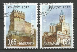 Bulgarien / Bulgaria   2012  Mi.Nr. 5032 / 5033 AS , EUROPA CEPT Visite / Besuche - Gestempelt / Used / (o) - Europa-CEPT