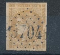 N°1 LOSANGE GRANDS CHIFFRES INDICE 8 - 1849-1850 Cérès