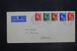 MAROC - Enveloppe De Tanger Pour Monaco En 1937 , Affranchissement Plaisant - L 27292 - Bureaux Au Maroc / Tanger (...-1958)