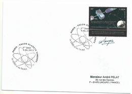 YT 634 - CNES - Satellites - Galileo - FDC - Terres Australes Et Antarctiques Françaises (TAAF)