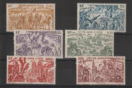 Inde 1946 Série PA 11 à 16 , 6 Val ** MNH - India (1892-1954)