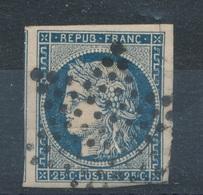 N°4 SUR RESTE DE FRAGMENT ETOILE - 1849-1850 Cérès