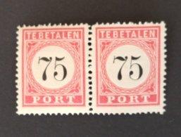 Nederlands Indië - Port Nr. P13A T.II Luxe Paar (postfris) - Niederländisch-Indien