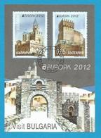 Bulgarien / Bulgaria   2012  Mi.Nr. Block 354 (5032/5033) , EUROPA CEPT Visite / Besuche - Gestempelt / Used / (o) - Europa-CEPT