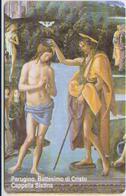 #05 - VATICAN-11 - SCV-086 - BATTESIMO DI CRISTO CAPPELLA SISTINA - JESUS CHRIST - MINT - Vatican