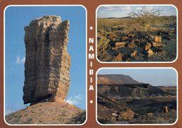 """1 AK Namibia * """"Fingerklip"""" Im Ugab Valley - Petrified Forest - """"Burnt Mountain"""" Near Twyfelfontein * - Namibie"""