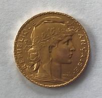 20 Francs Or COQ 1913 - L. 20 Francos