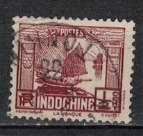 INDOCHINE          N°  YVERT   153    ( 4 )       OBLITERE       ( O   3/46 ) - Indochina (1889-1945)