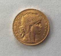20 Francs Or COQ 1912 - Francia
