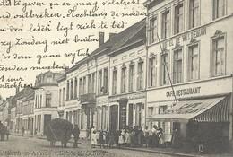 +++ CPA - WIJNEGEM - WYNEGHEM - Het Hotel De Wildeman - Café Restaurant - Carte Animée   // - Wijnegem