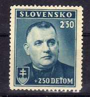 Slowakei / Slovakia, 1939, Mi 69 ** [240319XXIV] - Slowakije