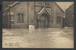 +++ CPA - TILLEUR - L'Eglise - Kerk - Inondations 1925-26 - Nels  // - Saint-Nicolas