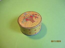 Maquillage/Boite De Poudre De Riz/HOUBIGANT/Paris/ Quelques Fleurs Naturelles/Vers 1930-50    PARF184 - Kosmetika