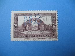 Perforé  Perfin  Algérie ,   Perforation :  SM34    à Voir - Algérie (1924-1962)