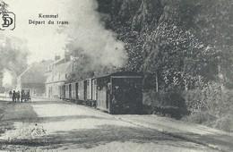 +++ CPA - KEMMEL - Départ Du Tram   // - Heuvelland