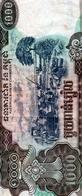Cambodge 1000 Riels 1999 VF - Cambodia